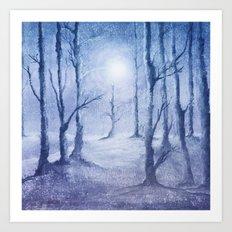 Track 5: Winter Art Print