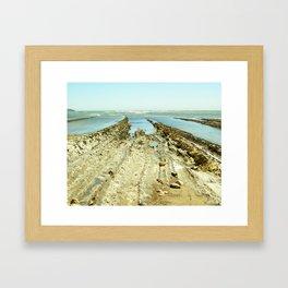 Bowling Ball Beach XI Framed Art Print