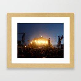 Glastonbury Framed Art Print