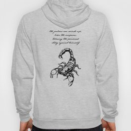 Friedrich Nietzsche - The Scorpion Hoody