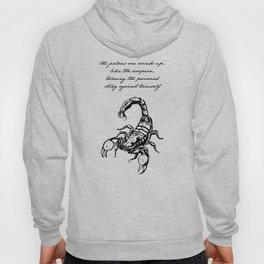 Friedrich Nietzsche - The Scorpion Hoody