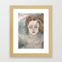 Drowning in Your Love Framed Art Print