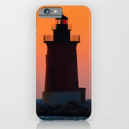 Sunset at Henlopen State Park 3 Coastal Landscape Photograph iPhone Case