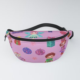 Pink Christmas - The Nutcracker Edit View Fanny Pack