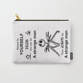 Jack Skellington Tim Burton's The nightmare before Christmas Be yourself Carry-All Pouch