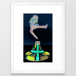 Jack's Jump 2 Framed Art Print