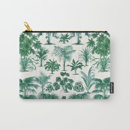 Exotic Tropical Palm Print Carry-All Pouch