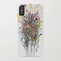 junk food iPhone & iPod Cases featuring Junk Food  by Sam Corona