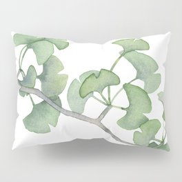 GINKGO, painting by Frank-Joseph Pillow Sham