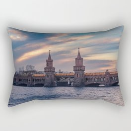 The Bridge Rectangular Pillow