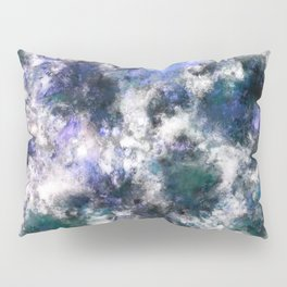 The silent blue decay Pillow Sham