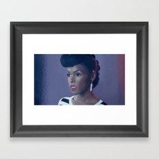 Cindi Mayweather/Janelle Monáe Framed Art Print