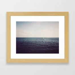 Sali away with me Framed Art Print