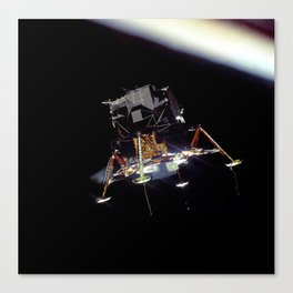 Eagle In Lunar Orbit  Canvas Print