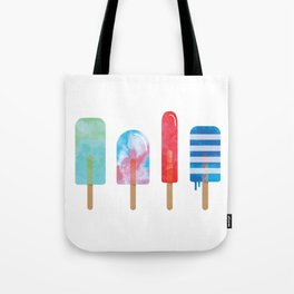 The Popsicle Lineup Tote Bag
