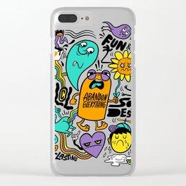 Fun & Cool Clear iPhone Case