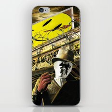 Who Watches The Watchmen? iPhone & iPod Skin