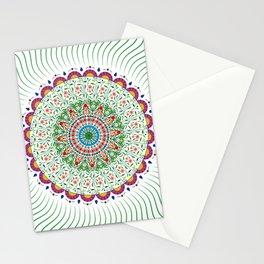 BOHEMIAN MANDALA CIRCLE DESIGN Stationery Cards