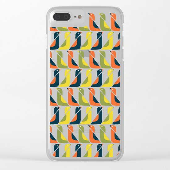 Duck Duck Clear iPhone Case