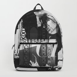 NYC Editorial Collage Black & White Backpack