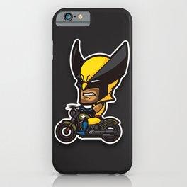 Mini Biker iPhone Case