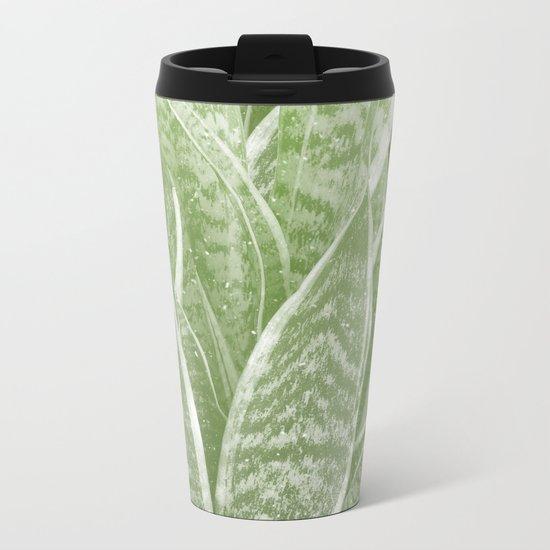 Sanseveria Metal Travel Mug