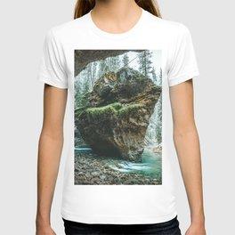 Johnston Canyon Lower Falls Banff National Park Canada Ultra HD T-shirt