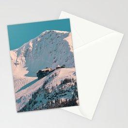 Mt._Alyeska Ski_Resort - Alaska Stationery Cards
