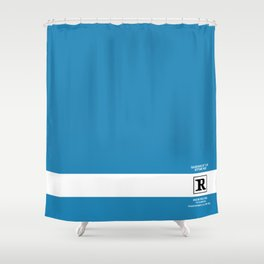 Rated R Shower Curtain