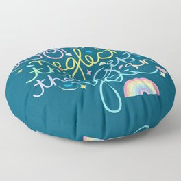 Don't Neglect The Gift That Is In You Floor Pillow