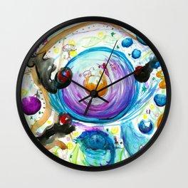 Manic Havoc Wall Clock