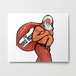 For Bad Boys Metal Print
