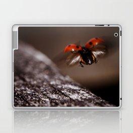 Ladybird in flight Laptop & iPad Skin