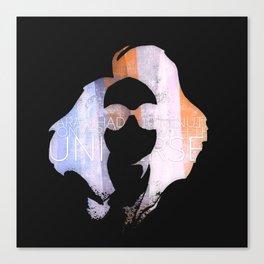 Mr. Gray Canvas Print