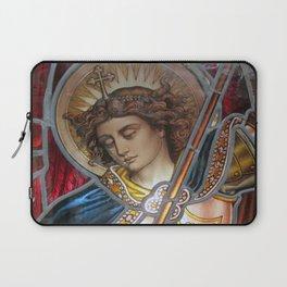 Angel in Glass Laptop Sleeve