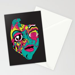 Mohnster_ Self Portrait Stationery Cards