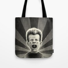 Noise Black Tote Bag