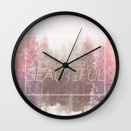 More Than Wall Clock