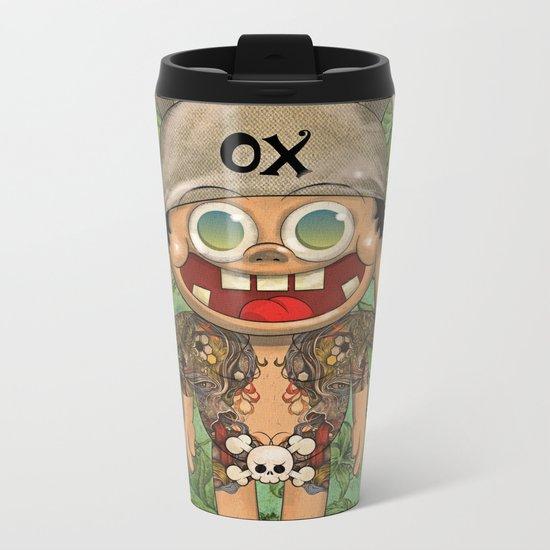 o-x (monster) Metal Travel Mug