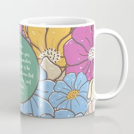 Stand firm, 1 Corinthians 15:58, Bible Verse Coffee Mug