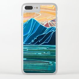 Coastal Connections : Single Line Clear iPhone Case