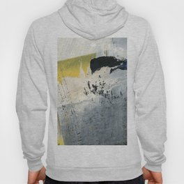 Mellow Yellow Texture Collage Hoody