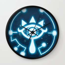 The blue eye Wall Clock