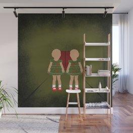 Twin Kids Wall Mural
