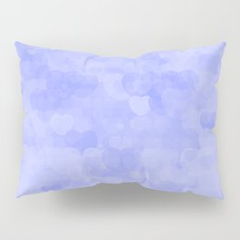 Violet Hearts Pillow Sham