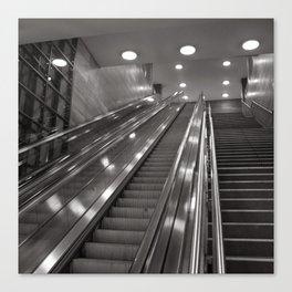 Underground station - stairs - Brandenburg Gate - Berlin Canvas Print