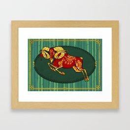 Year of the Sheep Framed Art Print