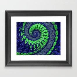 Seahawks Spiral Framed Art Print