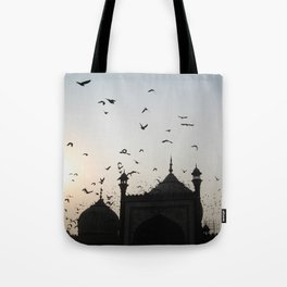 the flight home Tote Bag