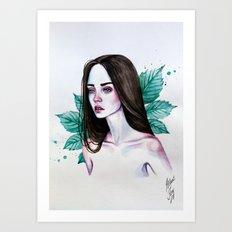Castanea Art Print